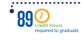 89 credit hours required to graduate by the number Creighton University School of Law