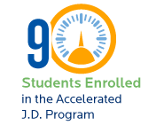 9 students enrolled in the accelerated J.D. program Creighton University School of Law Entering Class of 2019