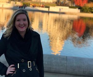 Amber Foley in Washington DC