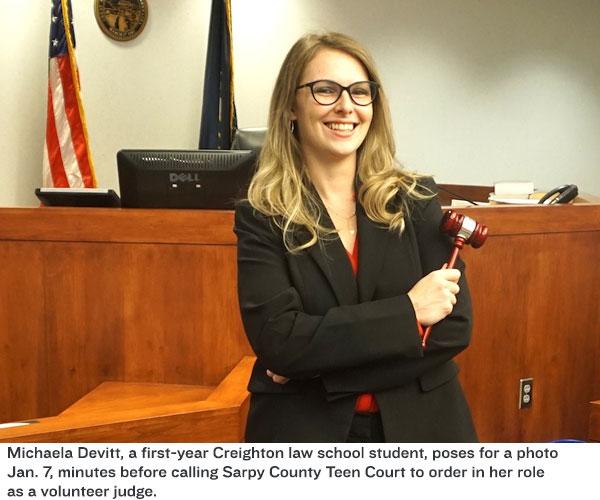 Michaela Creighton law student