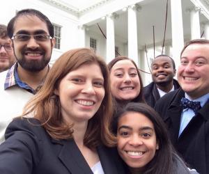 GOAL students selfie