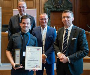 Student winner at International Criminal Law Moot Court Competition in Nuremberg, Germany
